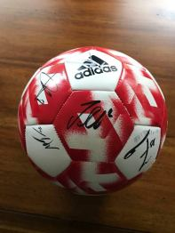 Silent Auction: Item #2 New England Revolution Team Signed Soccer Ball.