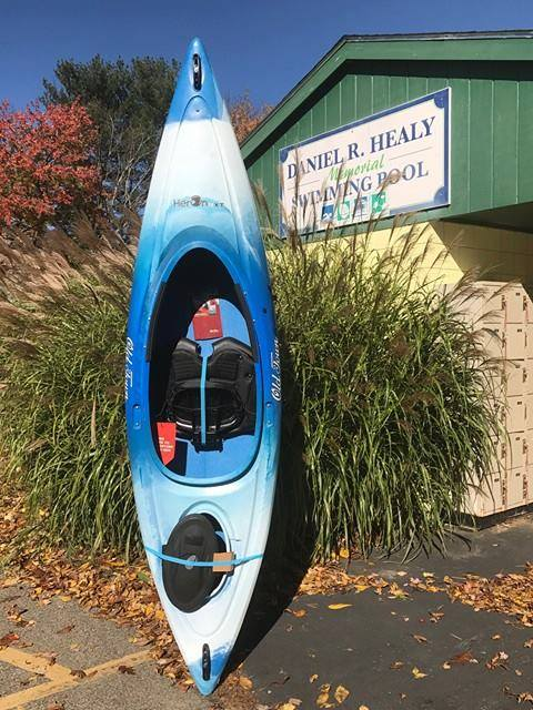 "Silent Auction: Item #1 Kayak – 9'6"" Old Town Canoe® Heron 9XT."